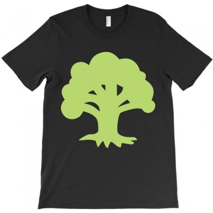Magic Gathering Green T-shirt Designed By Luisother