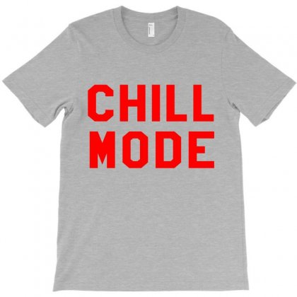 Chill Mode T-shirt Designed By Black White
