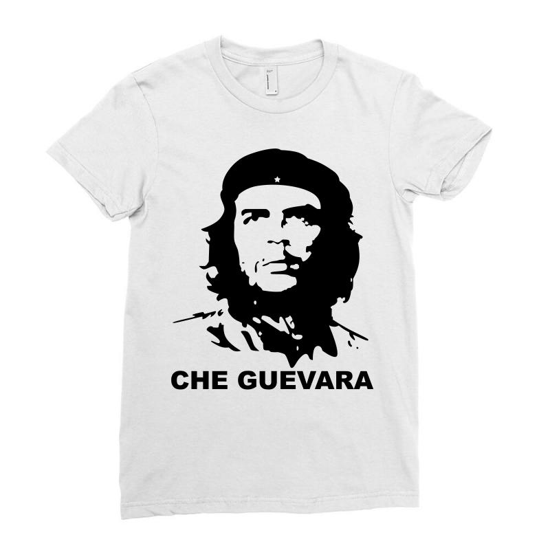 Custom Che Guevara Ladies Fitted T-shirt By Luisother - Artistshot 938c7a9844