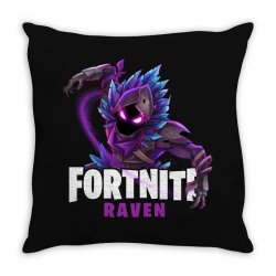 fortnite raven Throw Pillow | Artistshot
