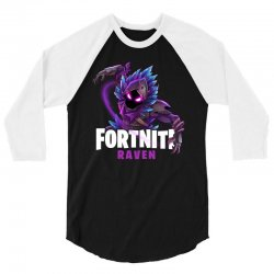 fortnite raven 3/4 Sleeve Shirt | Artistshot