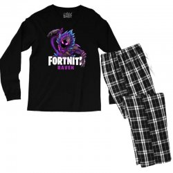 fortnite raven Men's Long Sleeve Pajama Set | Artistshot