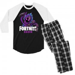 fortnite raven Men's 3/4 Sleeve Pajama Set | Artistshot