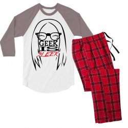 Geek is Sleek Men's 3/4 Sleeve Pajama Set | Artistshot