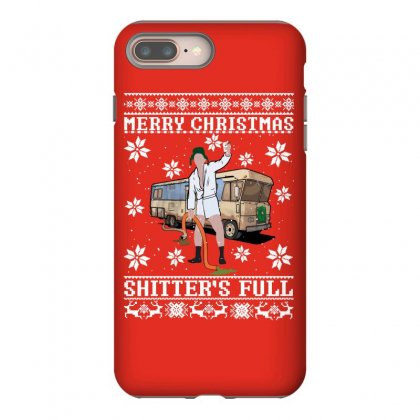 Merry Christmas Shitters Full Christmas Ugly Iphone 8 Plus Case Designed By Sengul