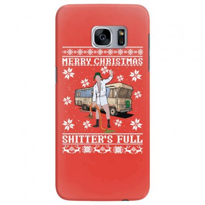 Merry Christmas Shitters Full Christmas Ugly Samsung Galaxy S7 Edge Case Designed By Sengul