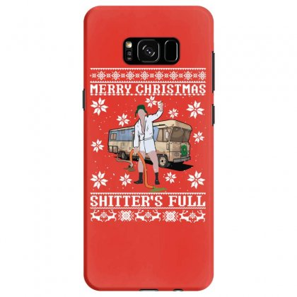Merry Christmas Shitters Full Christmas Ugly Samsung Galaxy S8 Case Designed By Sengul