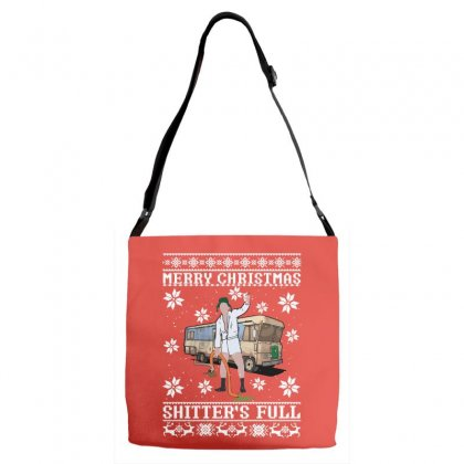 Merry Christmas Shitters Full Christmas Ugly Adjustable Strap Totes Designed By Sengul