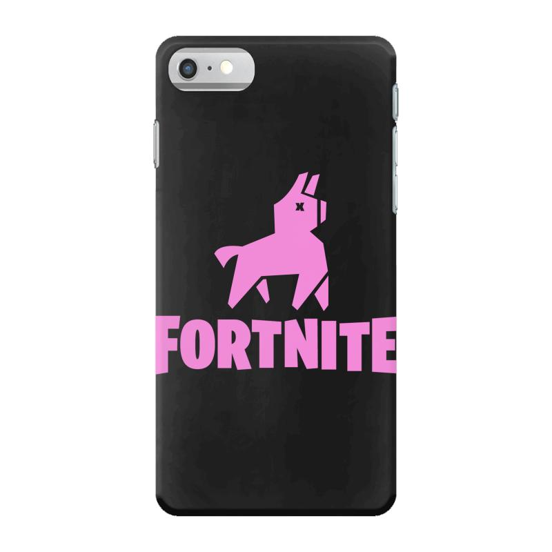 best service 838e6 c7bfe Pink Fortnite With Llama Iphone 7 Case. By Artistshot
