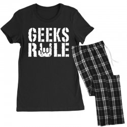 geeks rule Women's Pajamas Set | Artistshot