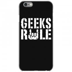 geeks rule iPhone 6/6s Case | Artistshot