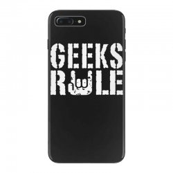 geeks rule iPhone 7 Plus Case | Artistshot