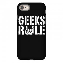 geeks rule iPhone 8 | Artistshot