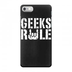 geeks rule iPhone 7 Case | Artistshot