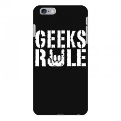 geeks rule iPhone 6 Plus/6s Plus Case | Artistshot