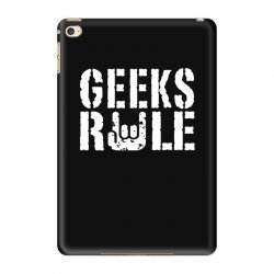 geeks rule iPad Mini 4 | Artistshot