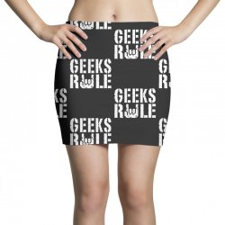 geeks rule Mini Skirts | Artistshot