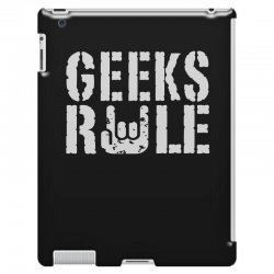 geeks rule iPad 3 and 4 Case | Artistshot
