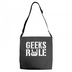 geeks rule Adjustable Strap Totes | Artistshot