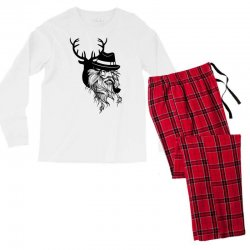 Wise Wild Men's Long Sleeve Pajama Set | Artistshot