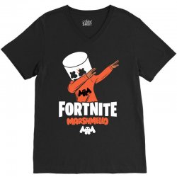 fortnite marshmello new skin V-Neck Tee | Artistshot