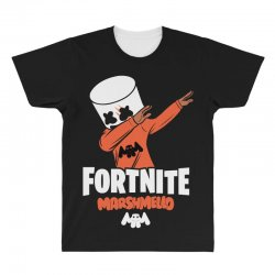 fortnite marshmello new skin All Over Men's T-shirt | Artistshot
