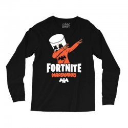 fortnite marshmello new skin Long Sleeve Shirts | Artistshot