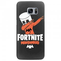 fortnite marshmello new skin Samsung Galaxy S7 Edge Case | Artistshot