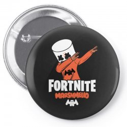 fortnite marshmello new skin Pin-back button | Artistshot