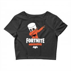 fortnite marshmello new skin Crop Top | Artistshot