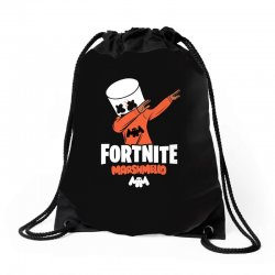 fortnite marshmello new skin Drawstring Bags | Artistshot