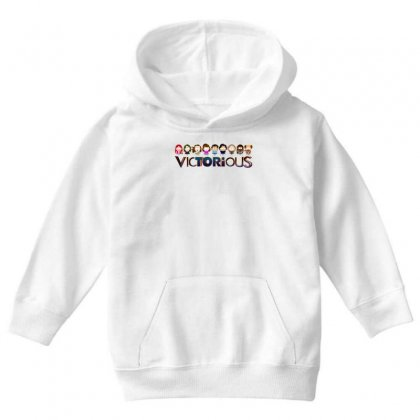 Nickelodeon Victorious Youth Hoodie Designed By Better