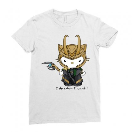Hello Avengers Ladies Fitted T-shirt Designed By Better