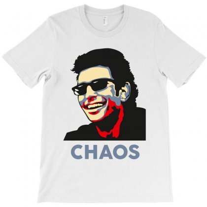 Ian Malcolm Chaos T-shirt Designed By Wizarts