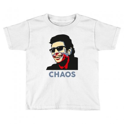 Ian Malcolm Chaos Toddler T-shirt Designed By Wizarts