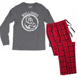Bulldog Sports Team Men's Long Sleeve Pajama Set | Artistshot