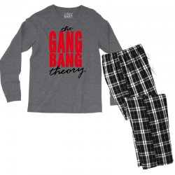the gang bang theory Men's Long Sleeve Pajama Set | Artistshot