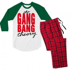 the gang bang theory Men's 3/4 Sleeve Pajama Set | Artistshot