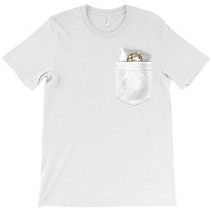Pocket Cat T-shirt Designed By Adam Jumali Lawless