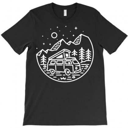 Go Outdoor (for Dark) T-shirt Designed By Quilimo