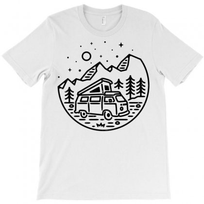 Go Outdoor (for Light) T-shirt Designed By Quilimo