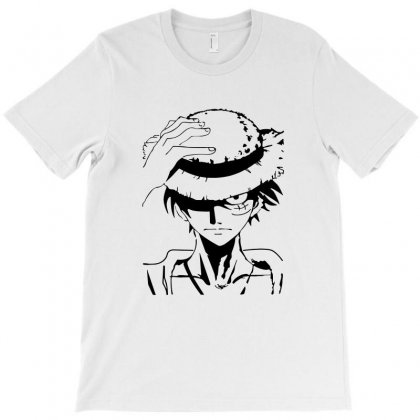 Anime One Piece Monkey D Luffy T-shirt Designed By Tee Shop
