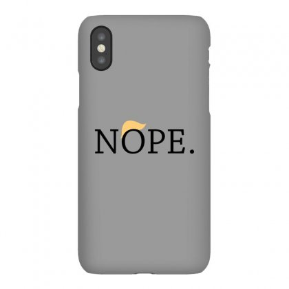Anti Trump Nope Funny Iphonex Case Designed By Tee Shop