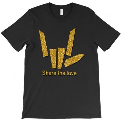 Share The Love T Shirts T-shirt Designed By Rardesign