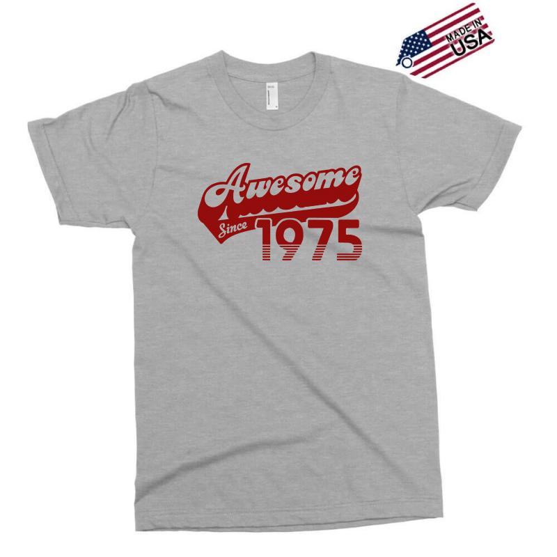 Awesome Since 1975 T Shirt 40th Birthday Exclusive