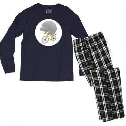 Dont Forget The Helmet Men's Long Sleeve Pajama Set Designed By Specstore