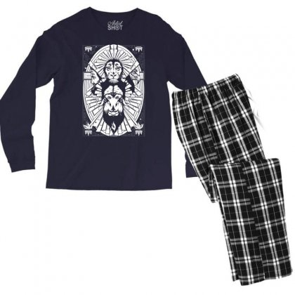 Eye Of The King Men's Long Sleeve Pajama Set Designed By Specstore