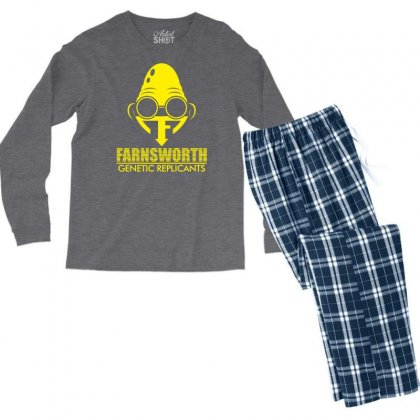 Farnsworth Genetic Replicants Men's Long Sleeve Pajama Set Designed By Specstore