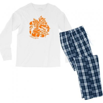 Ganesh Men's Long Sleeve Pajama Set Designed By Specstore