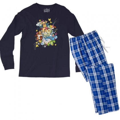 Happy Day Adventure Men's Long Sleeve Pajama Set Designed By Specstore